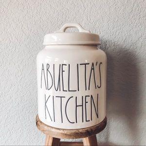 **SOLD** Rae Dunn Abuelita's Kitchen Canister